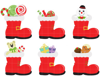 340x270 Winter Boot Clipart Etsy