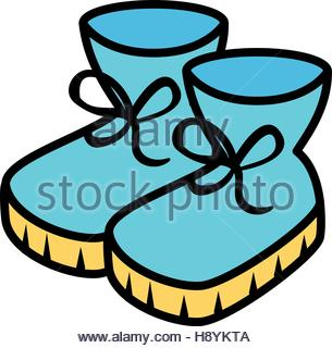 305x320 winter boots shoes icon vector illustration design Stock Vector
