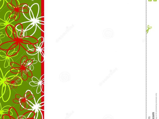 640x480 Holiday Borders Clip Art Free