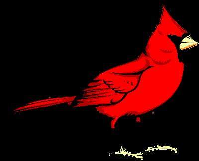 400x325 Cardinal Clipart Free