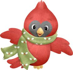 236x228 Christmas clipart cardinal