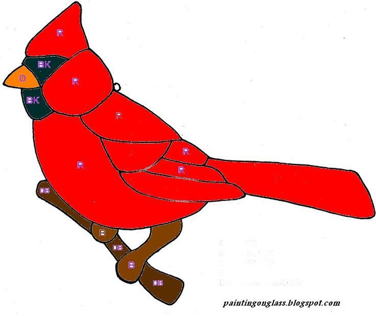736x618 Best 25+ Stained glass cardinal ideas Cardinal