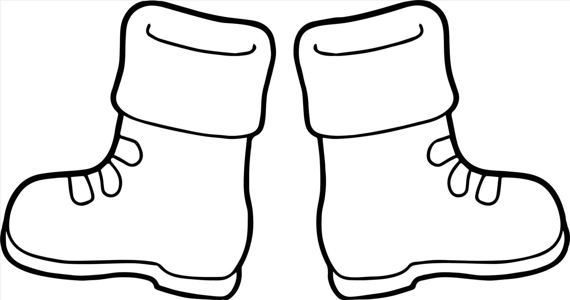 1899x999 Winter Boots Clipart Black And White
