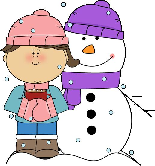 516x550 Winter Clipart Snowman