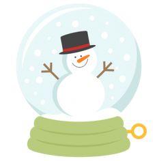 236x236 Snowman Winter SVG scrapbook cut file cute clipart files for