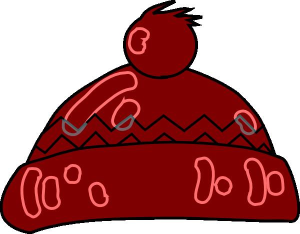 600x468 Winter Hat Clip Art