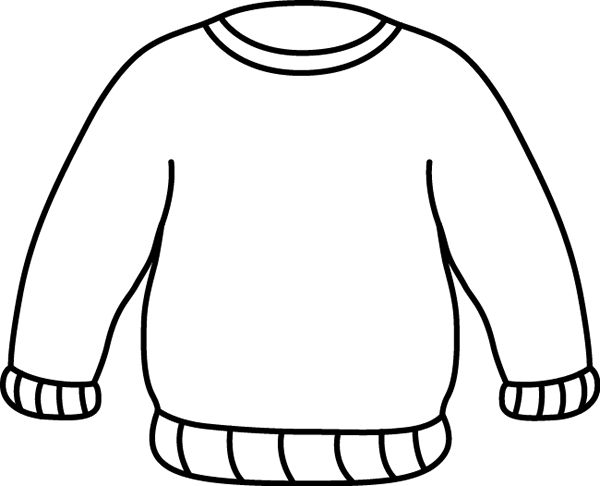 600x486 Coat Clipart Sweater