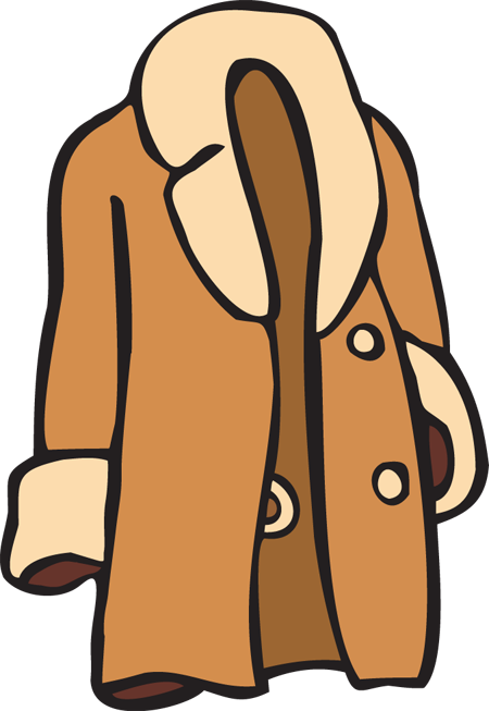 Winter Coat Clipart