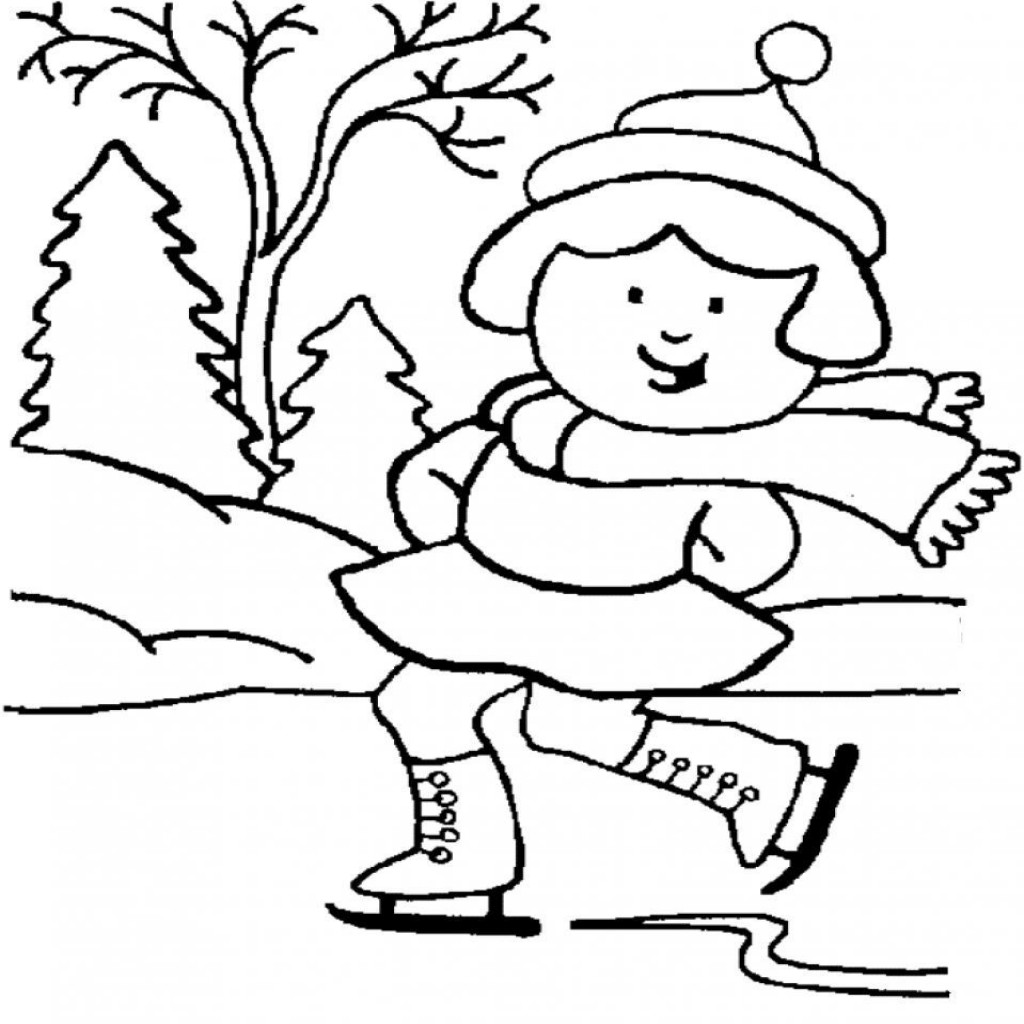 Winter Coloring Pages | Free download best Winter Coloring Pages on ...
