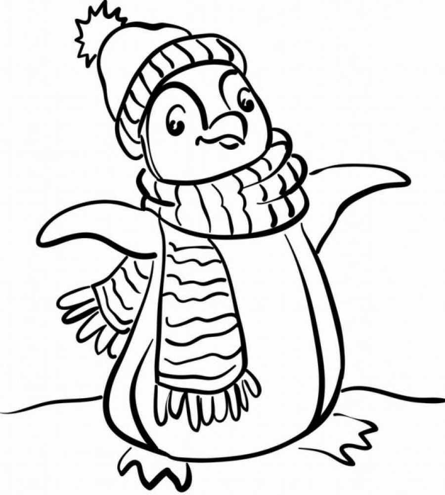 Winter Coloring Pages Free Download Best Winter Coloring Pages On