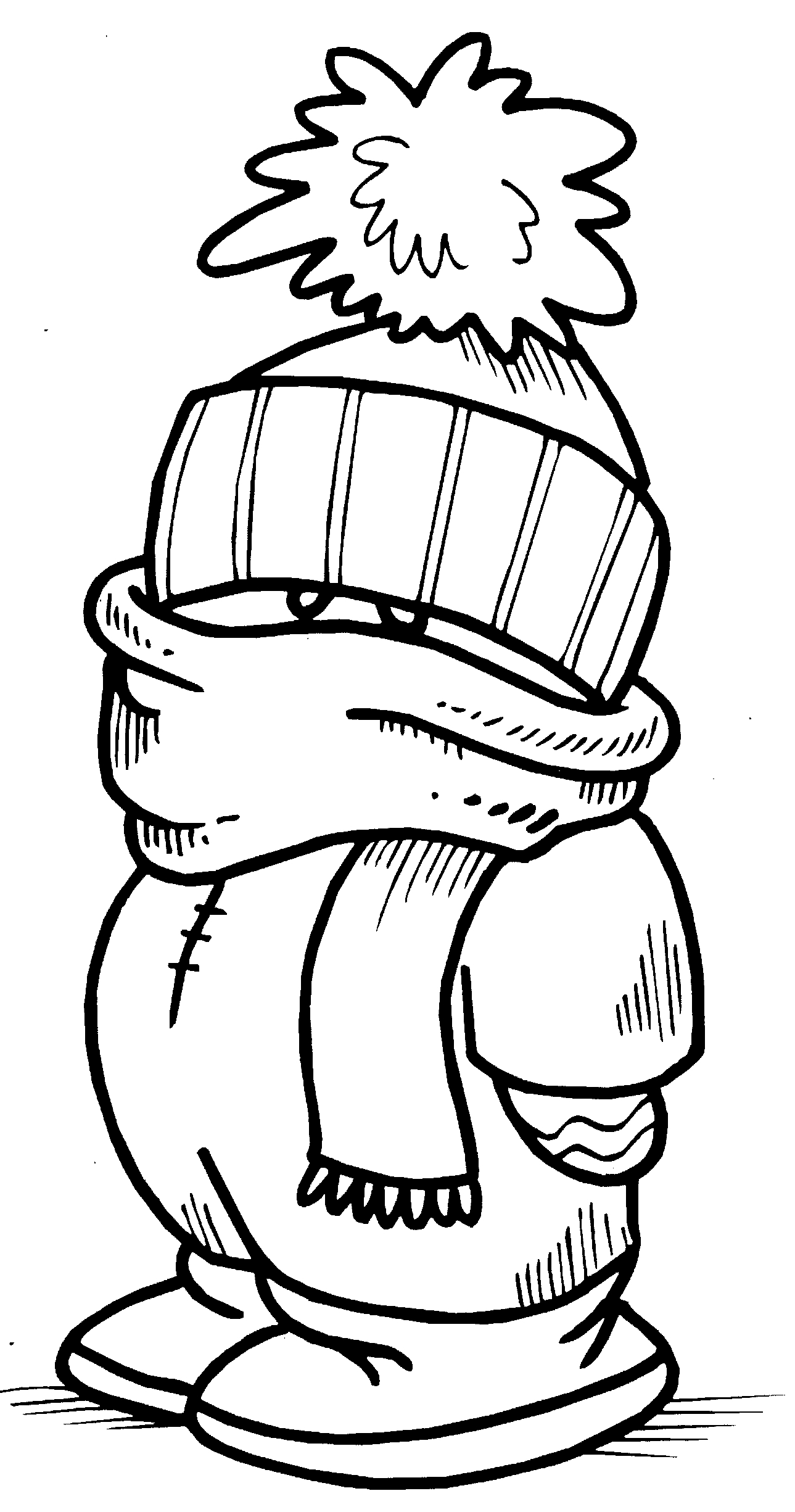 Winter Coloring Pages   Free download best Winter Coloring Pages on ...