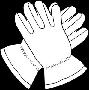 Winter Gloves Clipart