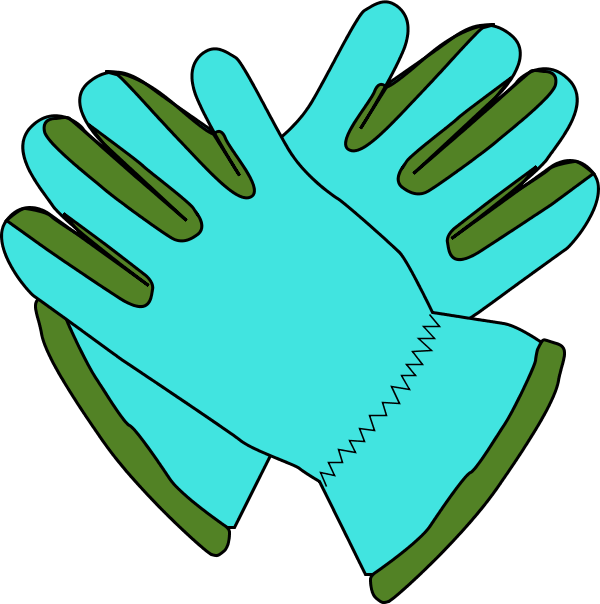600x604 Gloves Clipart Free Images 2