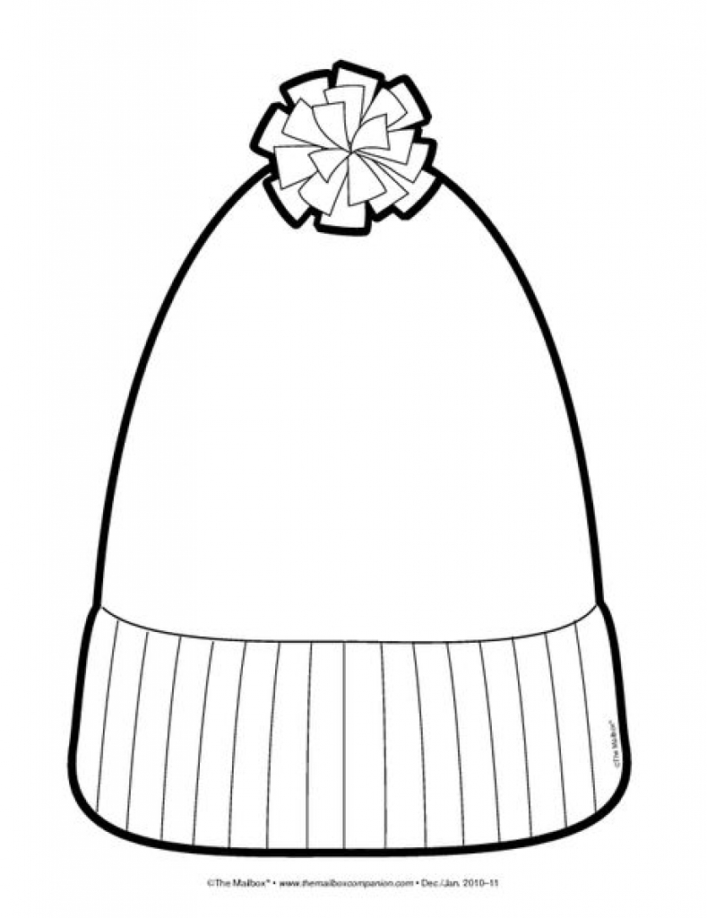 It is a graphic of Juicy Winter Hat Drawing