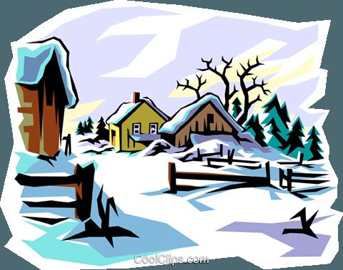 Winter Scene Clipart Free Download Best Winter Scene Clipart On