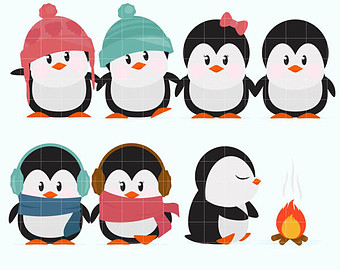 340x270 Cold Weather Clipart Etsy
