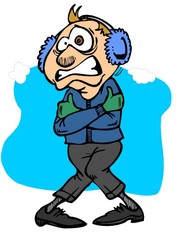 620x812 Freezing Cold Person Clipart