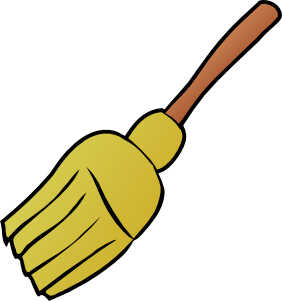 Witch Broom Clipart