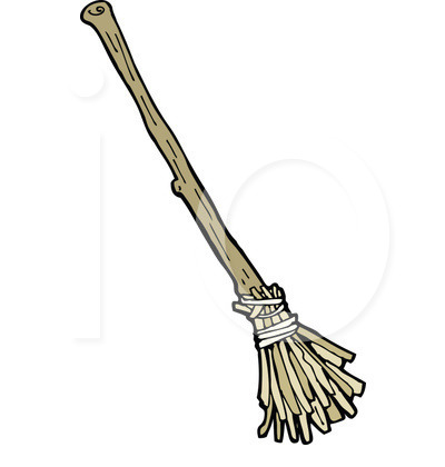 400x420 Broom Clipart