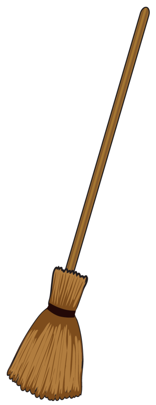 507x1315 Witchcraft Clipart Witch Broom