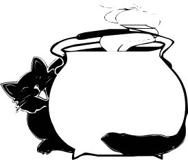 274x233 Free Witches Cauldron Clipart