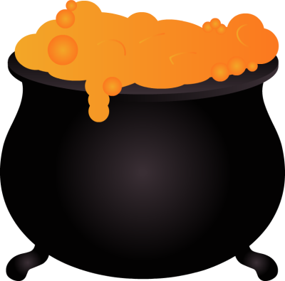 400x395 Witch Cauldron Clipart Free Images 2