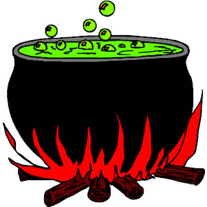 300x300 Witch Cauldron Clipart Free Images 3