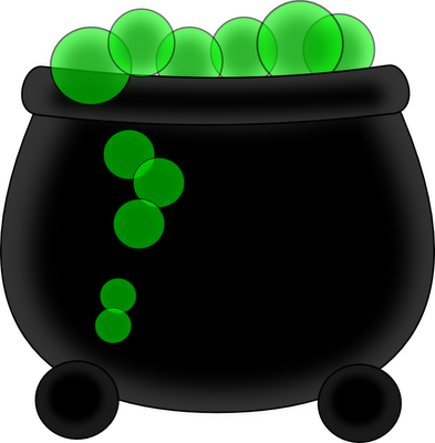 393x400 Witch Cauldron Clipart Free Images 5