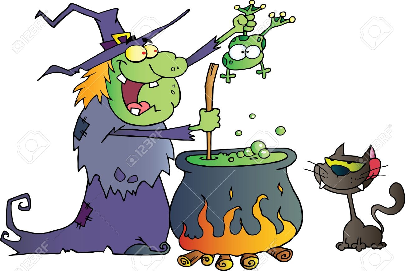 1300x872 Witch Clipart Potion