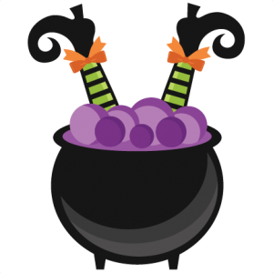 300x300 Witch In Cauldron Miss Kate Cuttables Halloween