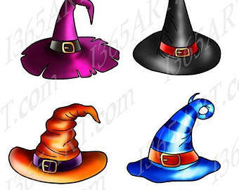 340x270 Halloween Witches Hats Clipart Witch Hat Clip Art Printable