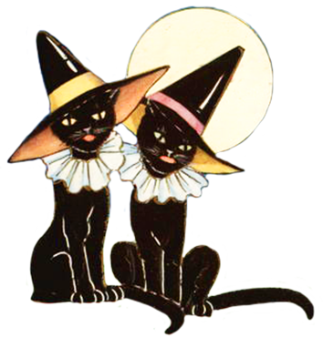 354x382 Happy Halloween Clipart