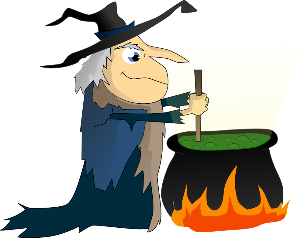 1000x783 Witch Hat Clipart Cauldron