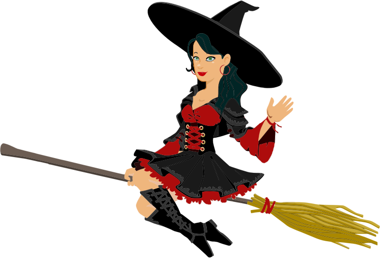 746x506 Witches Clip Art And Halloween