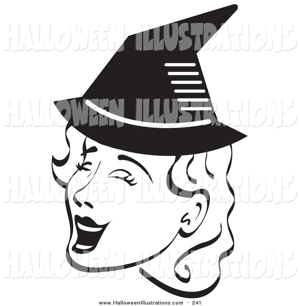 1024x1044 Halloween Cliprt Of Happy Pretty Woman Singingnd Wearing