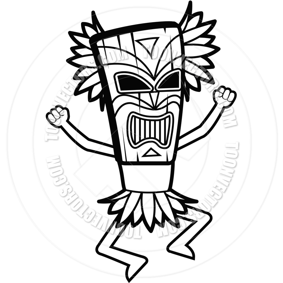 940x940 Witch Doctor (Black And White Line Art) By Cory Thoman Toon