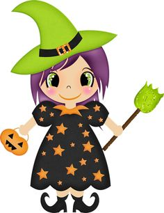 236x306 Baby Witch Clipart