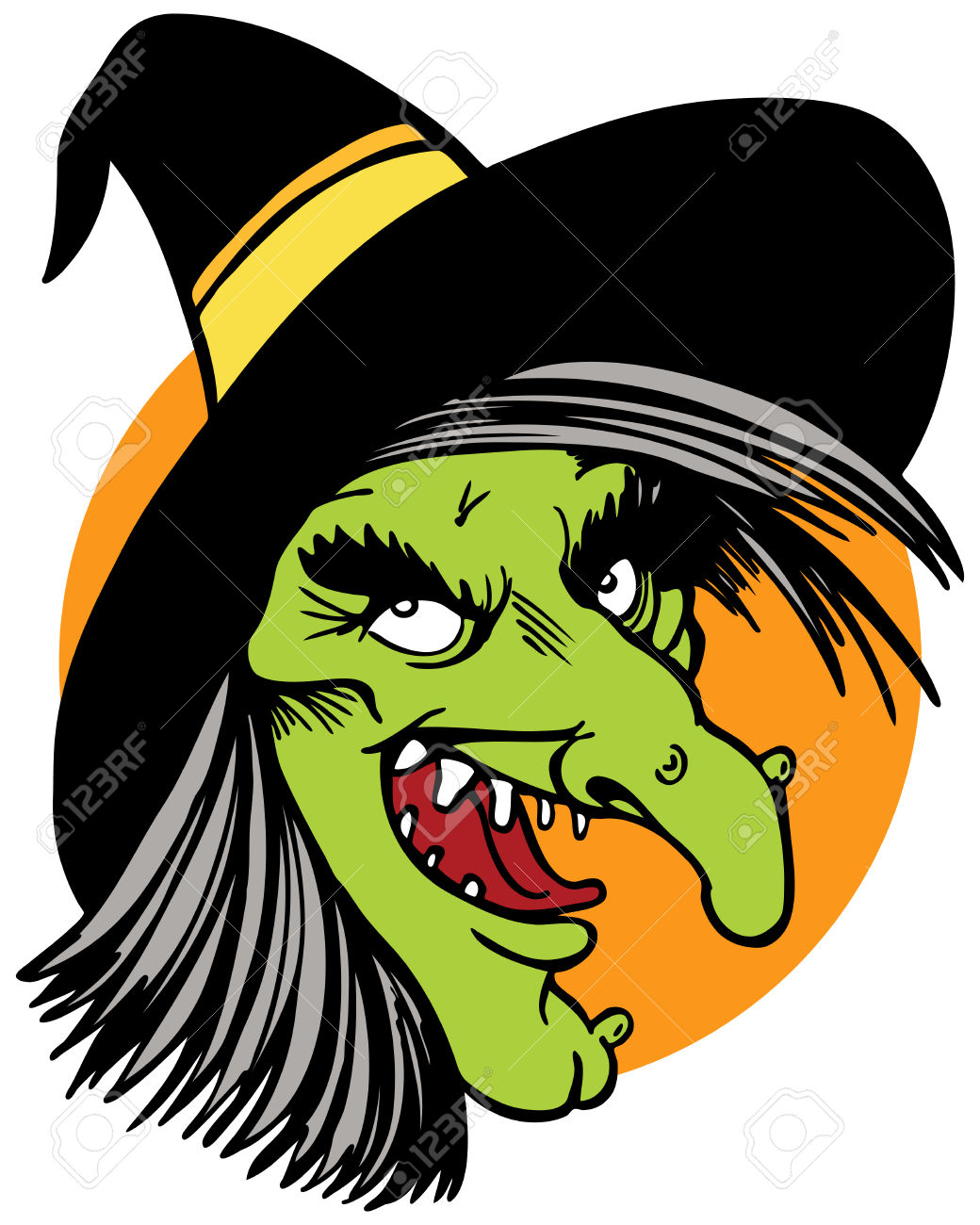 1040x1300 Tongue Clipart Witch