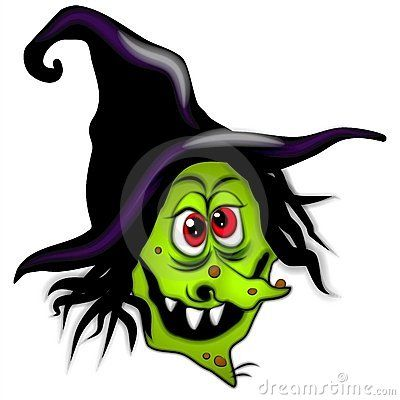 400x400 Witchcraft Clipart Witch Face