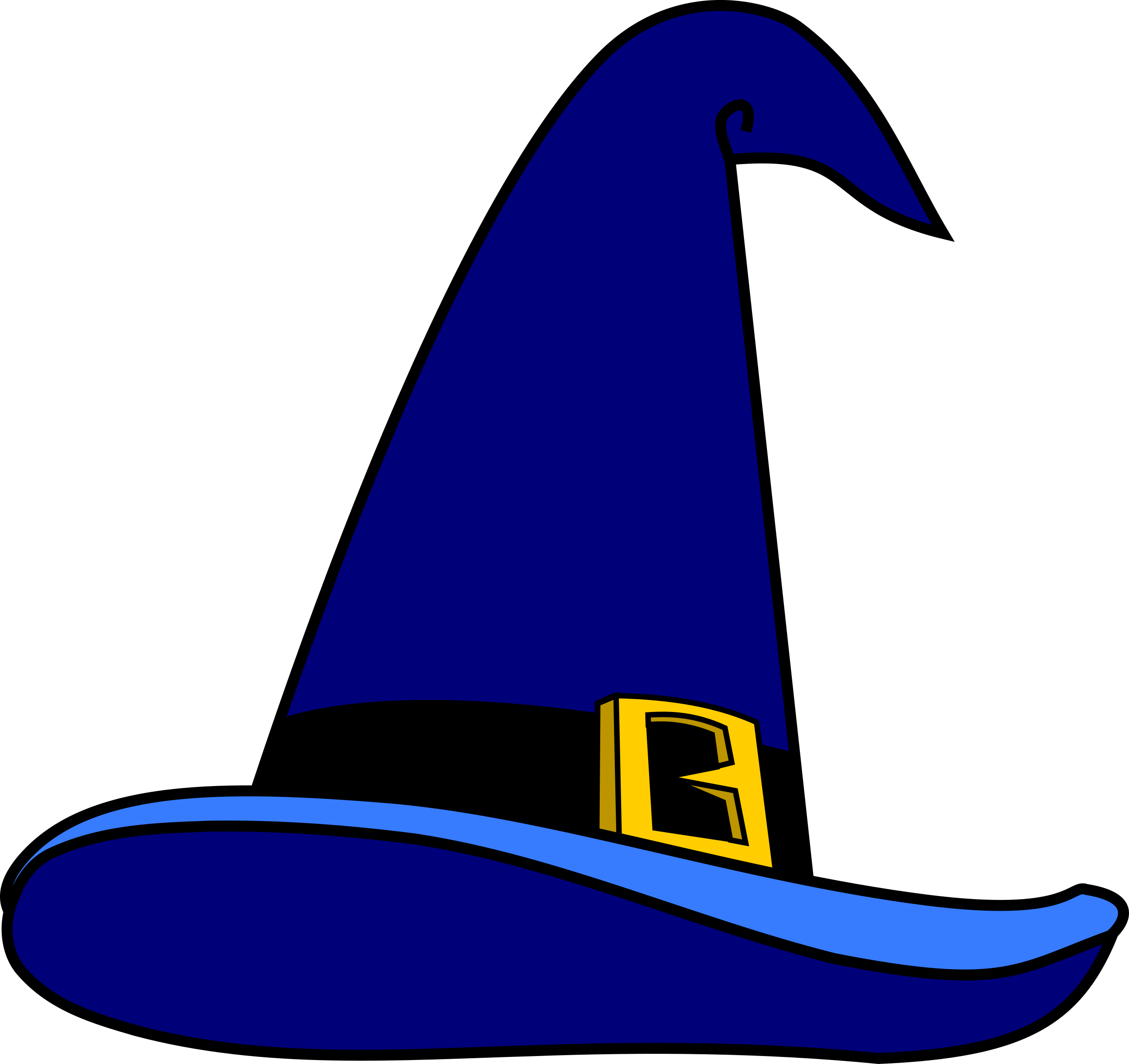 2545x2400 Hat Clipart Wizards