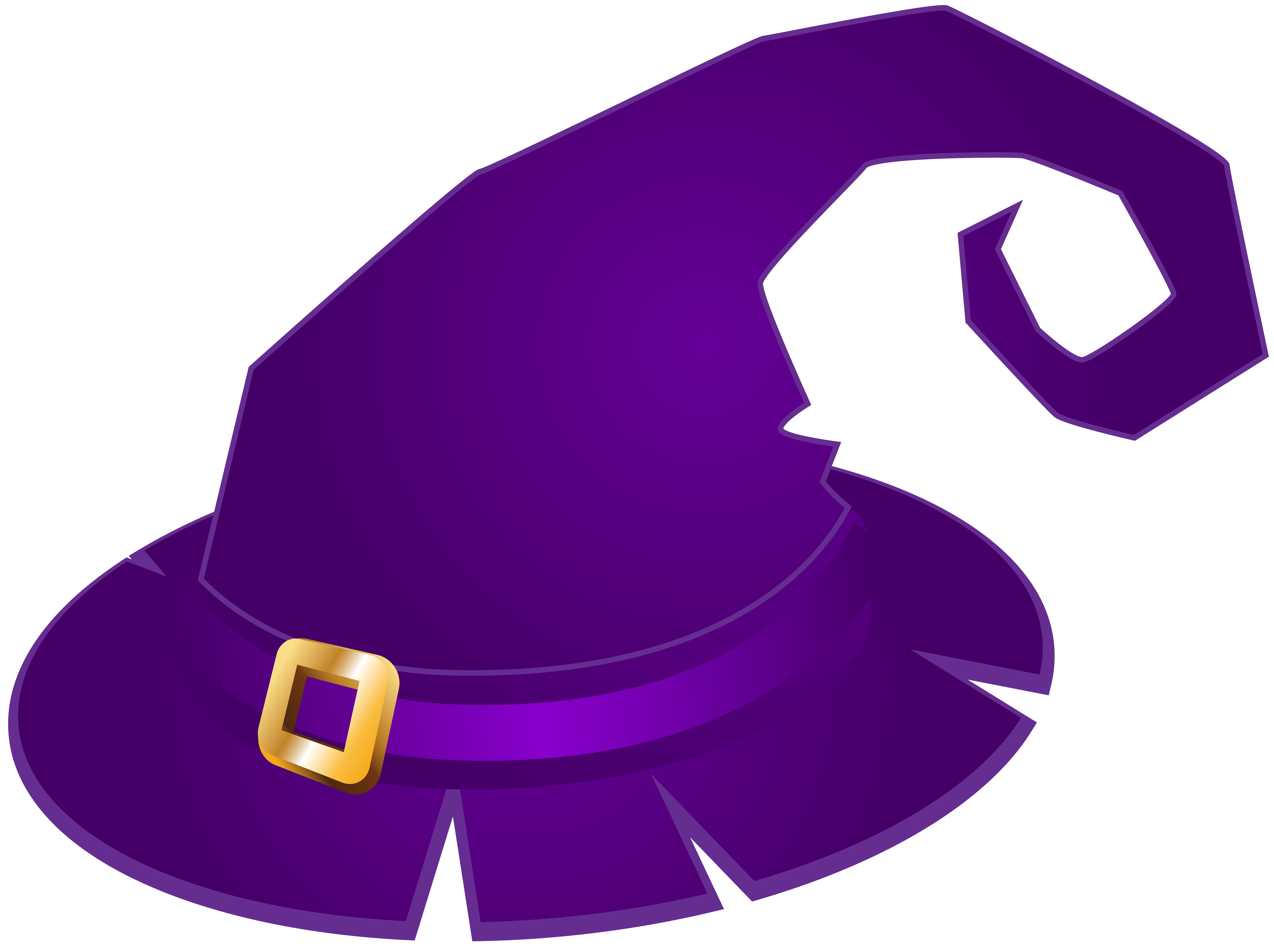 8000x5981 Purple Witch Hat Transparent Png Clip Art Imageu200b Gallery