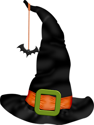 320x428 Witch Hat Clip Art