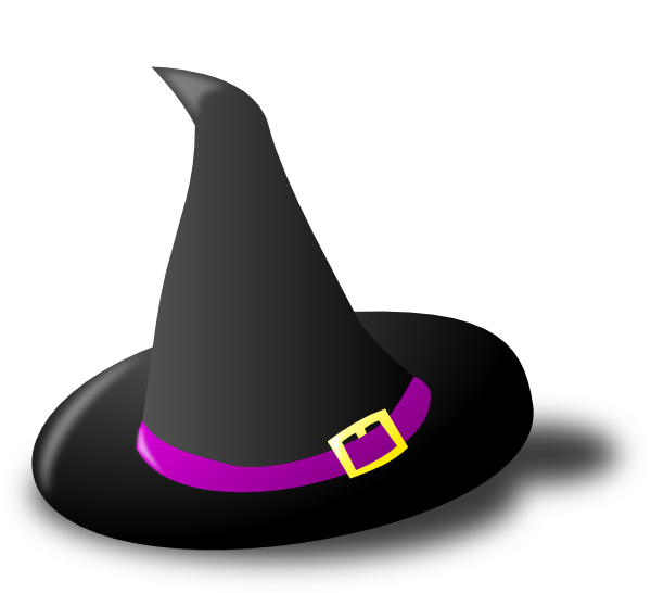 600x546 Witch Hat Clip Art