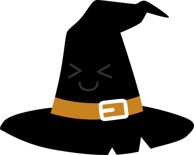 736x588 Witch Hat Clipart Kawaii