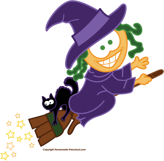560x549 Free Witch Clipart