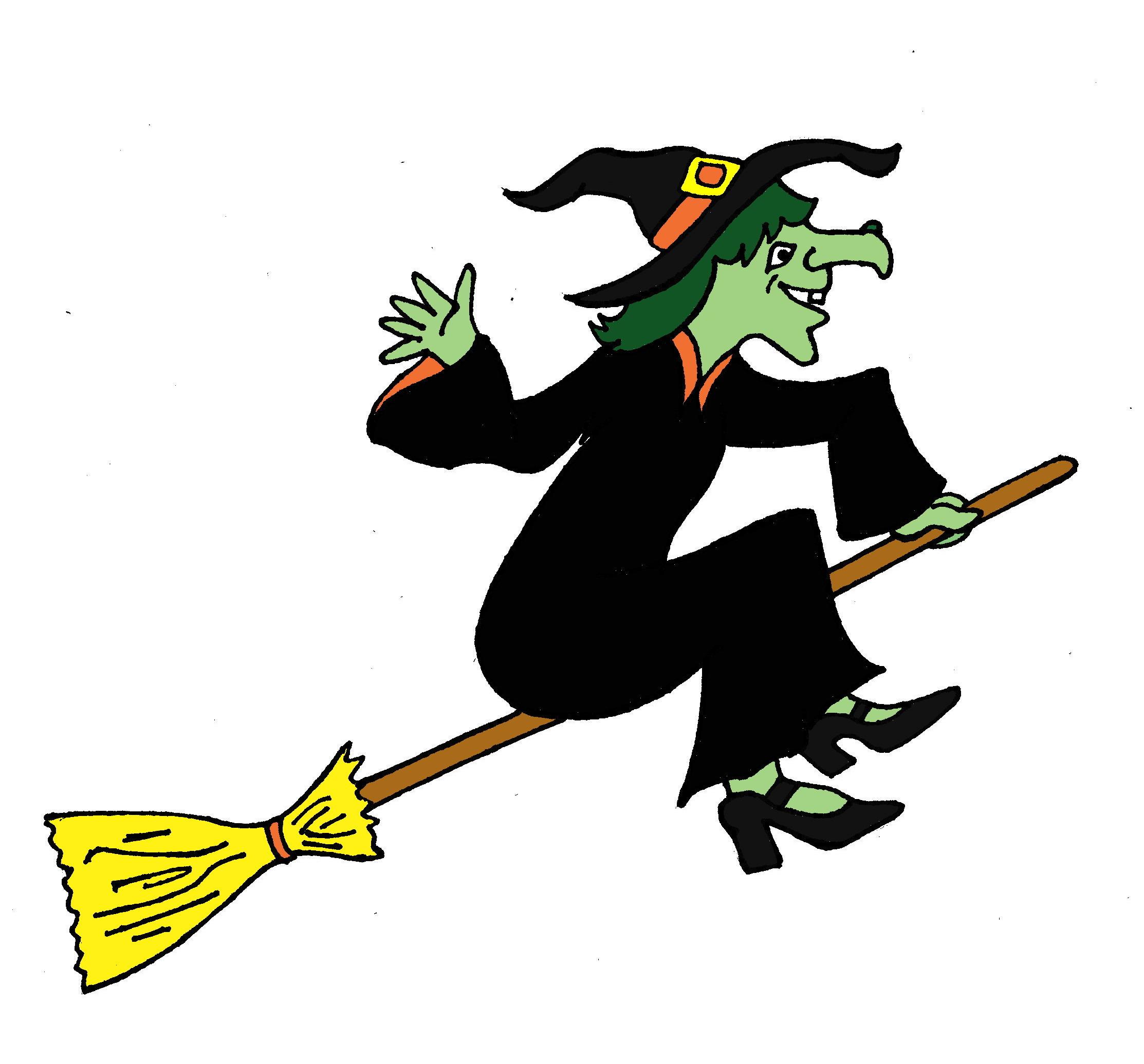 2226x2072 Halloween Witch