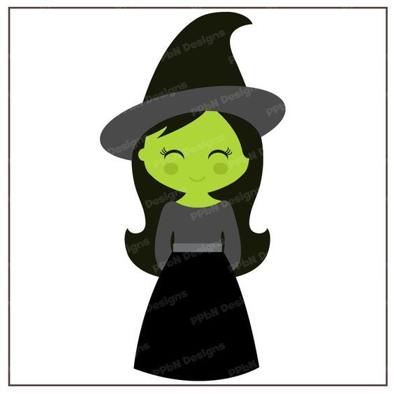 564x564 Wicked Witch Clipart