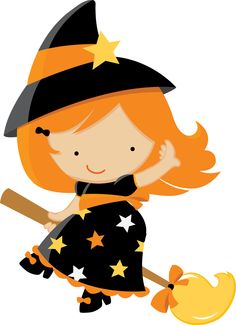 236x325 Cute Witch Clipart