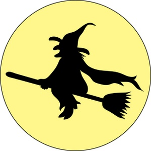 300x300 Wicked Witch Clipart Image