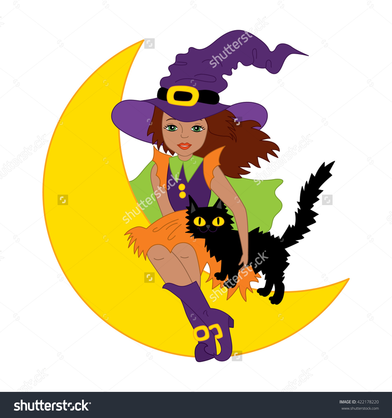 1500x1600 Witch Cat Clipart, Explore Pictures
